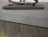 Ovale profiel greep 24x160x178mm mat messing
