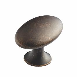 Taya knop donker antiek brons