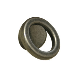 Knop ring Ø 60mm boorafstand 32mm zink oxyde