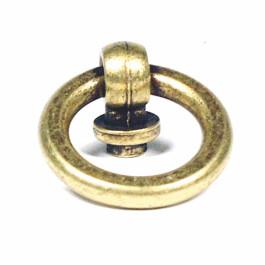 Meubeltrekring antiek brons