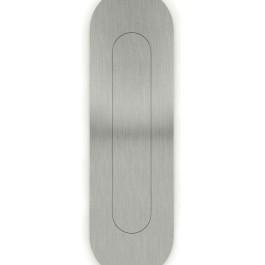 Ovale indrukgreep 45x155mm RVS