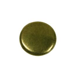 Paddenstoelknop 25mm H-21mm antiek brons