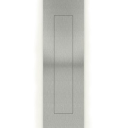 Rechthoek indrukgreep 45X155mm RVS