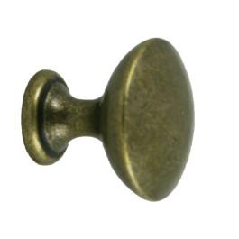 Ronde knop 30mm H-27mm antiek brons