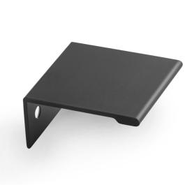 Slim II greep 40x40mm mat zwart