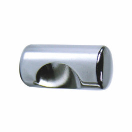 Stiftknop 12x24mm gl.chroom