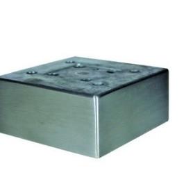 Vierkante poot 50x110x110x50 Alu geborsteld