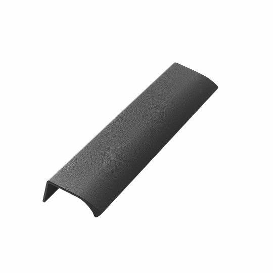 Greep Edge Straight 200mm Donker grijs gecoat
